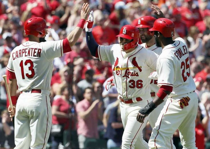 """Stack up the #cardinals against Scott """"gas can"""" Feldman today in #dfs. #aldemysdiaz #dexterfowler #mattcarpenter #stlouis #stlouiscardinals #mlb #fanduel #draftkings"""