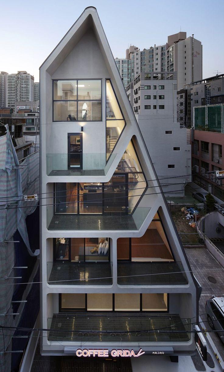 The System Lab Darak Darak Neighborhood Facility In Seoul
