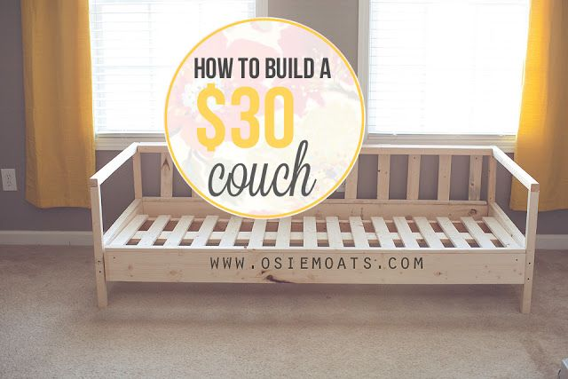 How to Build a $30 Couch by Osie Moats