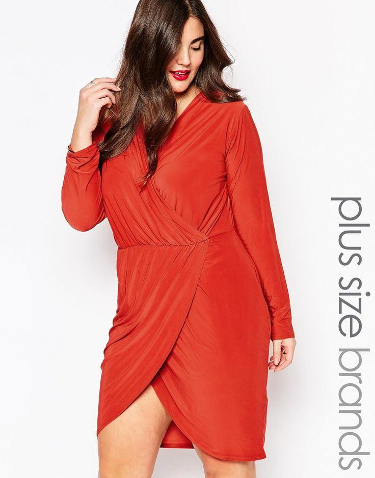 Missguided+Plus+Wrap+Dress