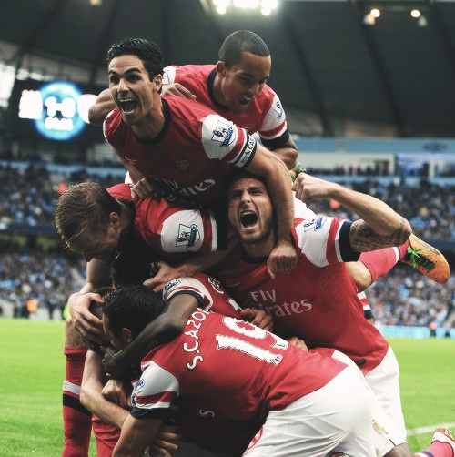 Arsenal. Love those boys!