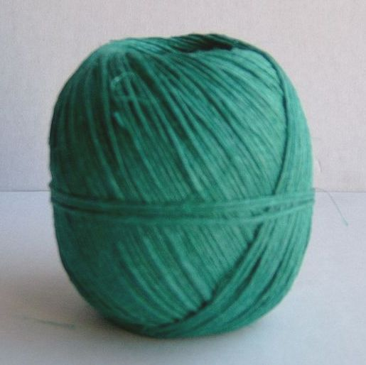 Dyed hemp twine ball 100 grams Approx 115 metres Nm 2 2 5.  Made in Hungary  our hemp strings and twines are a lovely and rustic with a   slighty uneven quality