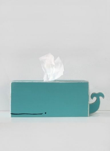 whale tissue - maybe I've pinned already? Really want this for the boys' bathroom.