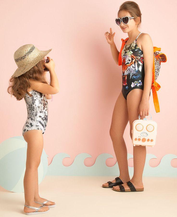 Leopard Beach Backpack - Bardot Junior