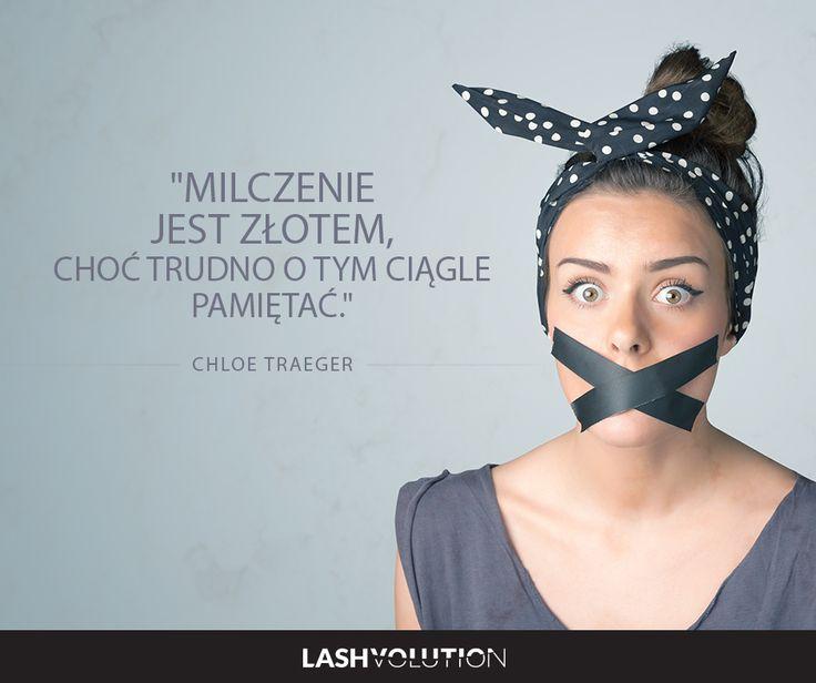 Czasem warto ugryźć się w język? :P  #sentencje #cytaty #kobieta #milczenie