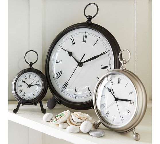 Pocket Watch Clock Watch Pottery Barn And