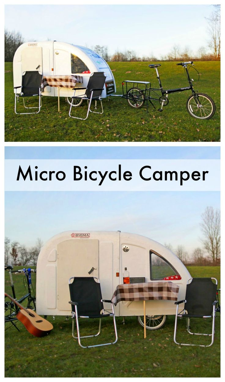 If you're looking to hit the trails this summer, but prefer to travel light, you're in luck: Wide Path Camper recently released a lightweight micro camper that attaches to the back of a bike.