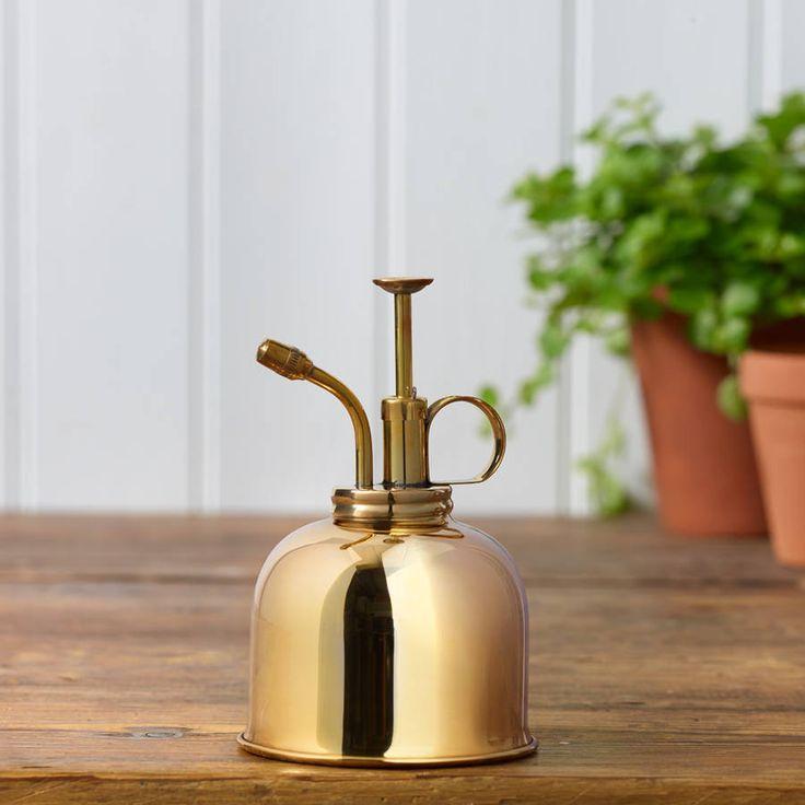 Brass plant spray mister