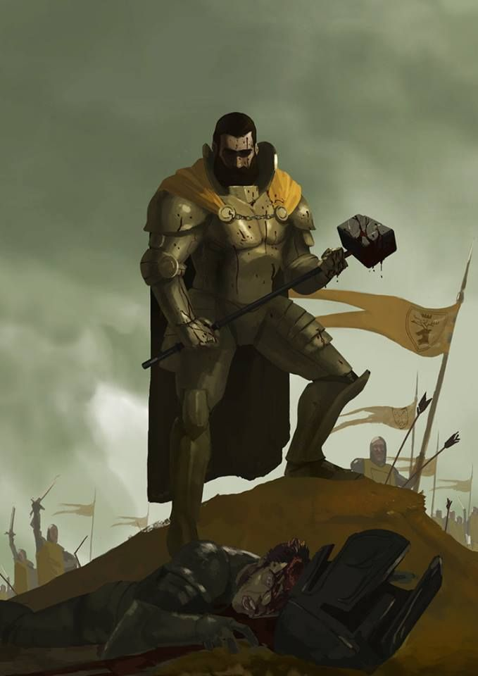 Young Robert Baratheon by Nil Vendrell