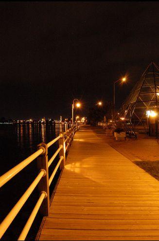 Sault Ste Marie Boardwalk by Troy Walker