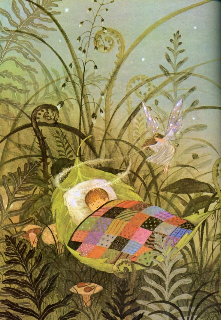 Gyo Fujikawa. Queen Mab, en A child's Book of Poems. Sterling, 2007