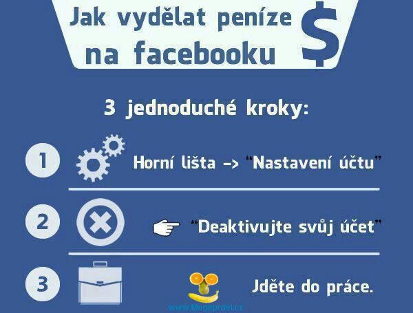 Jak vydělat na Facebooku