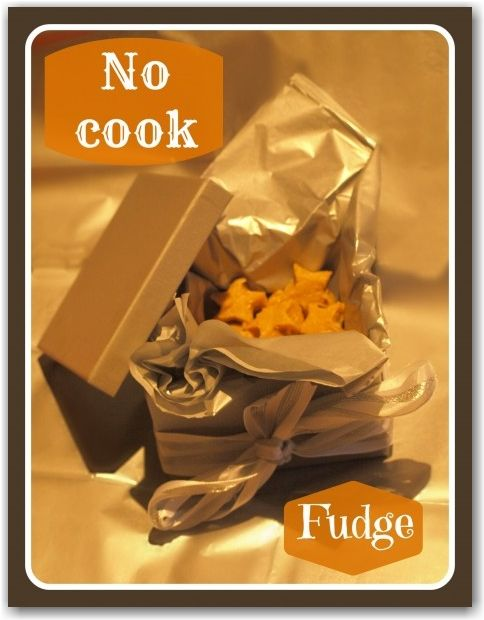 No cook fudge | Cooking with kids | Pinterest