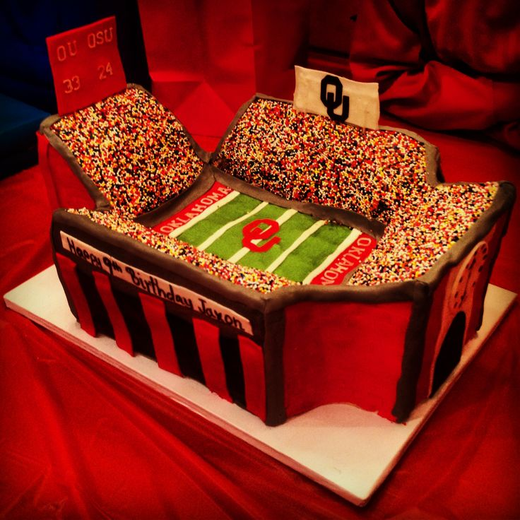 1000+ images about OU Cakes on Pinterest  Football  ~ 152910_Birthday Party Ideas Okc