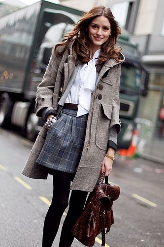 preppy chic and winter ready!