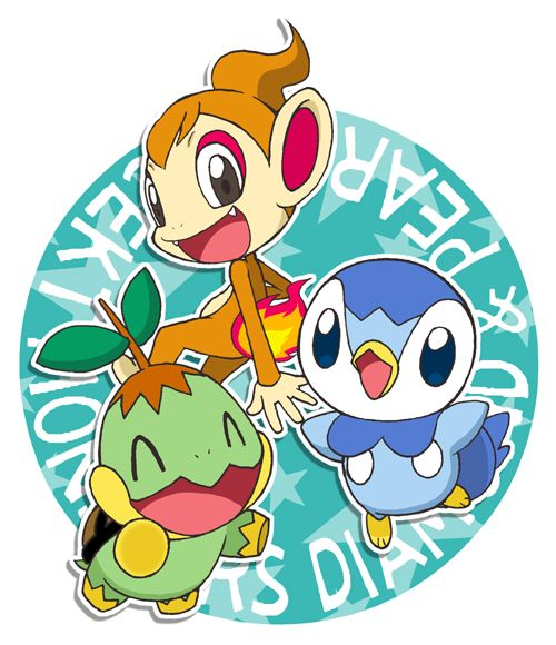 download pokemon starters piplup - photo #47