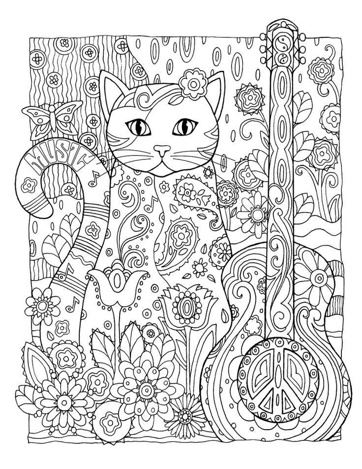 Printable Unicorn Coloring Pages For Adults : 141 best grown up coloring pages images on pinterest