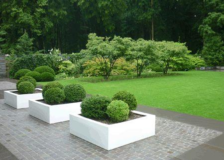 39 best images about gartenwege on pinterest planters for Gartenplanung modern