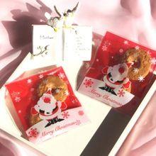 Plastik Noel Hediyesi Çanta Noel Baba Ren geyiği Ambalaj kendinden yapışkanlı hediye Çanta lehine paketi 100pcs Yeni Yıl Dekorasyon (Çin (Anakara))