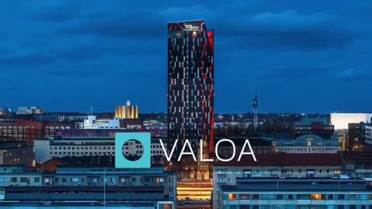 Tower Hotel in Tampere. Lighting design by VALOA.