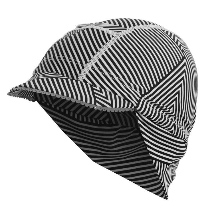Bias Stripe Winter Cyclist's Femme Cap