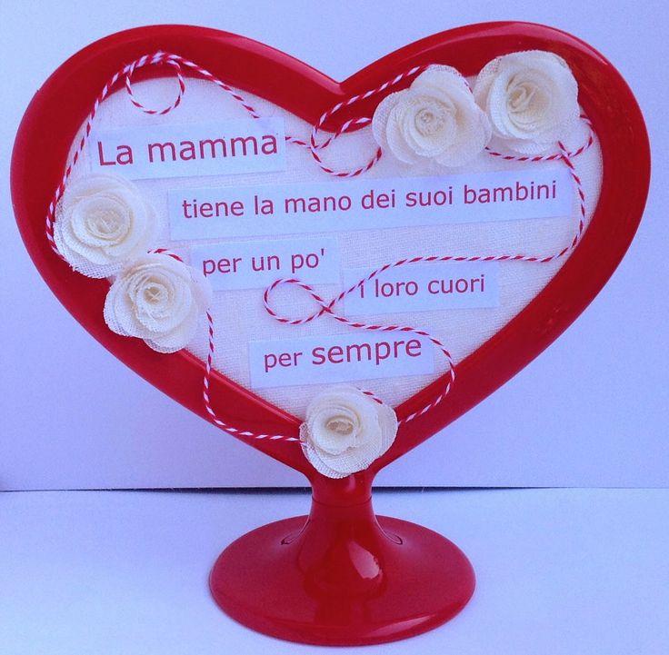 Letiziascrap: Cornice per la Festa della mamma