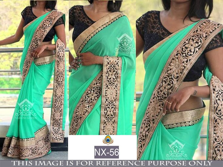 Savvys Bollywood Saree Indian Designer Ethnic Party Wear Lehenga Pakistani NX-56 #SavvysStore #LehengaSaree