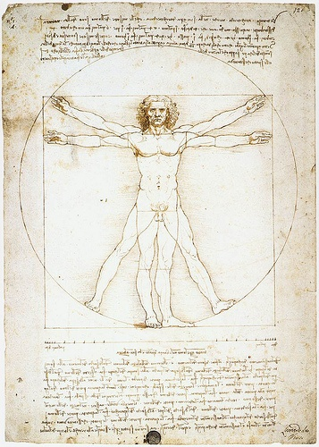 O Homem Vitruviano - Da Vinci