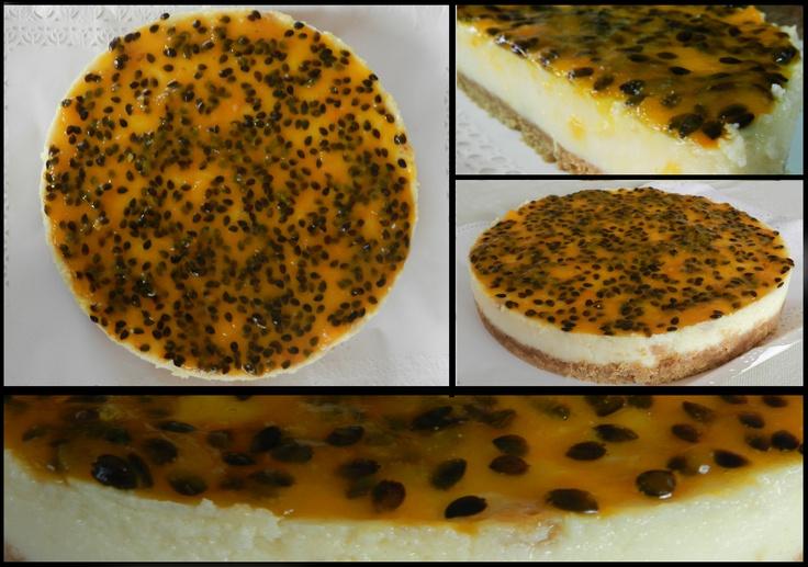 cheesecake de maracuya pruebalo! sweetkikipostres