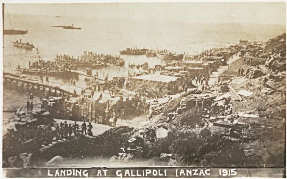 Landing at Gallipoli (ANZAC 1915), BA780/23