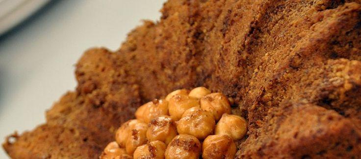 Tahinli Cevizli Tarçınlı Kek