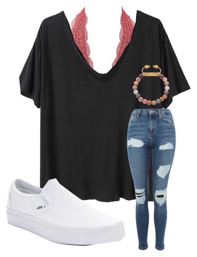 """all of life is peaks and valleys. don't let the peaks go to high or the valleys too low."" by emi-elephant ❤ liked on Polyvore featuring Charlotte Russe, R13, Topshop and Vans"
