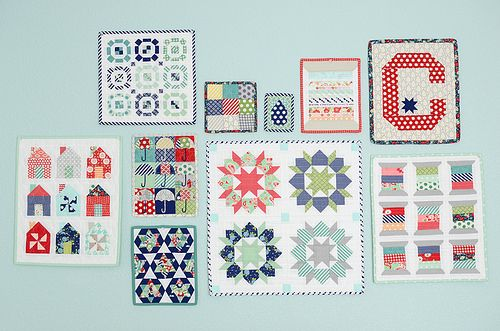 Beautiful patterns and coordinating colors!