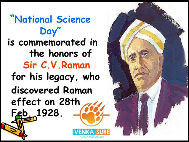 Happy National Science Day....!