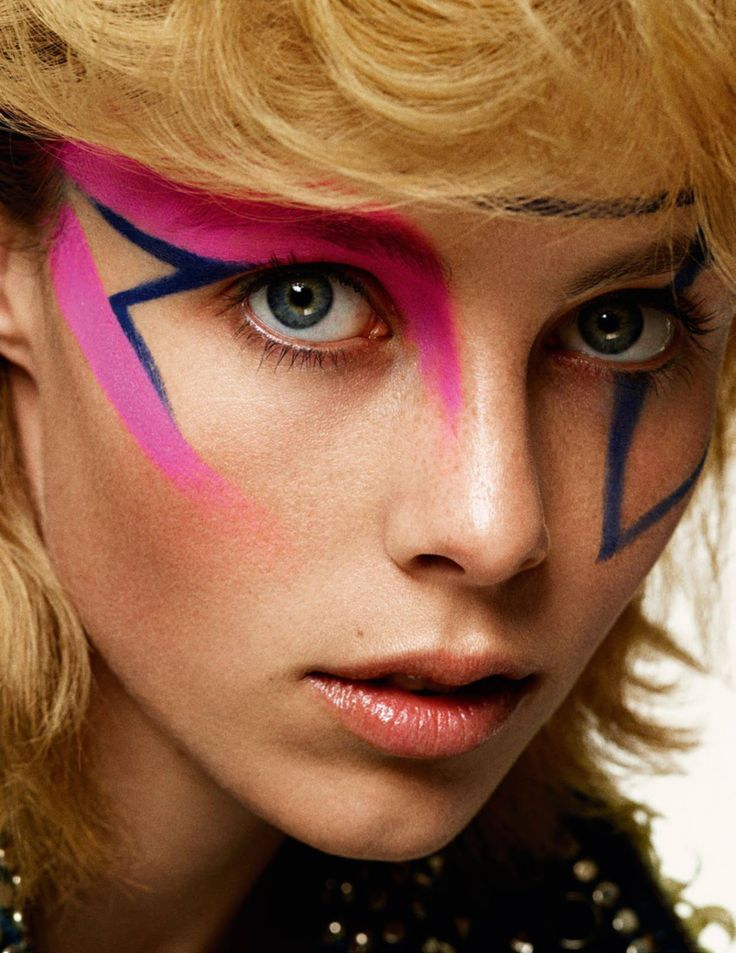 visual optimism; fashion editorials, shows, campaigns & more!: punk culture: edie campbell by christian macdonald for vogue paris september 2015 model: edie campbell (dna) photographer: christian macdonald (mapltd) stylist: celia azoulay (jedroot) hair: akki (artpartner) make-up: lloyd simmonds (timhoward) manicure: brenda abrial (jedroot)
