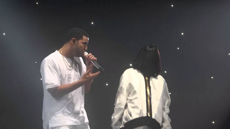 Drake & Rihanna - Take Care @ Paris Bercy (25.02.2014)