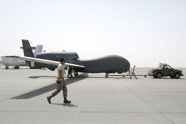 U.S. Air Force disclosed some details about gigantic Global Hawk unmanned aircraft operations against ISIS