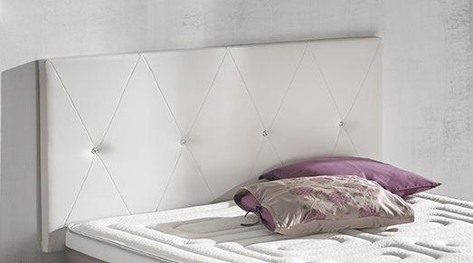 Elegante #cabezal para el #dormitorio | #decor #descanso #hogar