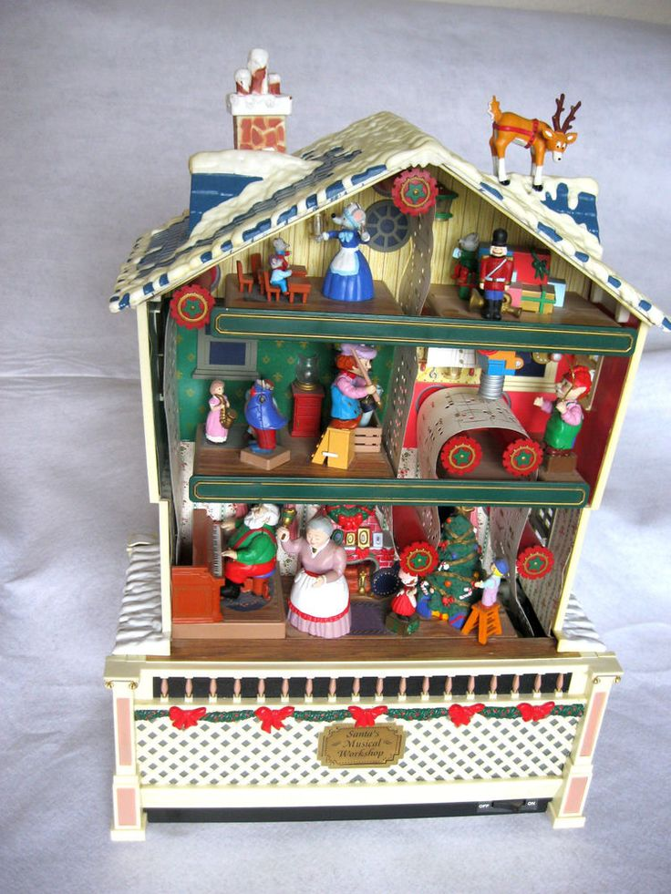 Mr. Christmas Santa's Musical Used (see