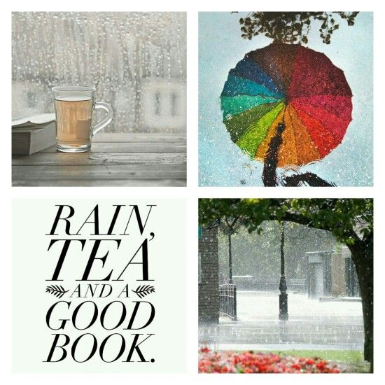 Rain, tea and a good book