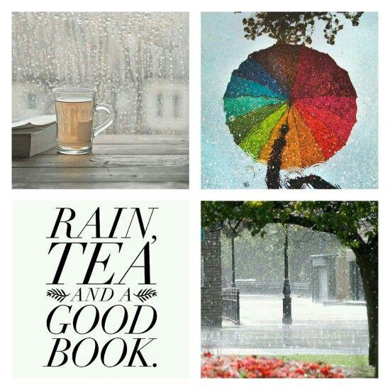 Rain, tea and a good book