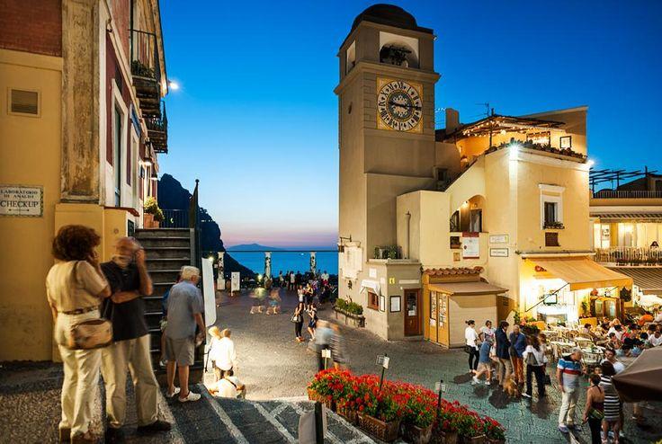 Capri - Piazza Umberto I (Piazzetta)