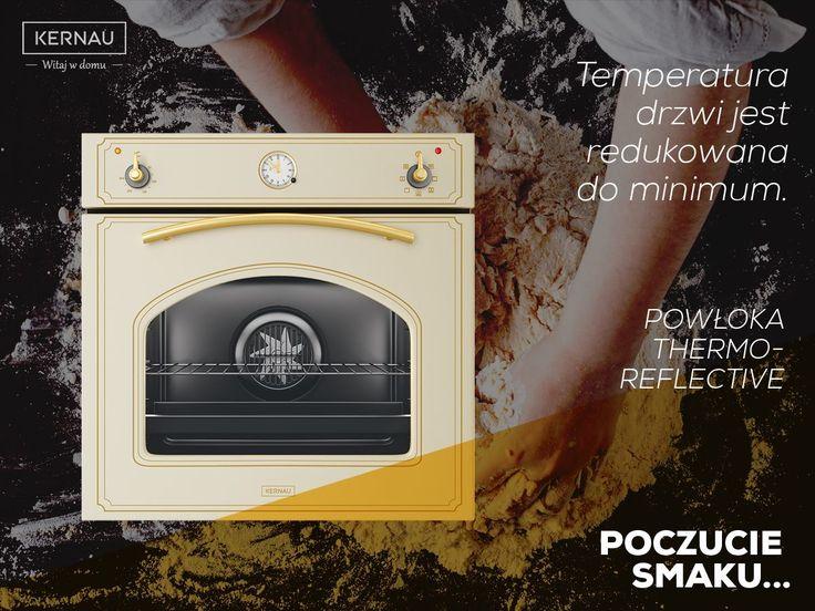 Klasyka okraszona retro stylem to propozycja dla tych, którzy preferują nieszablonowe umeblowanie kuchni :). Jedną z perełek w naszym sklepie jest piekarnik o nietypowym wyglądzie i kolorze. Co więcej zadba o bezpieczeństwo Twoje jak i Twojej rodziny, ponieważ posiada powłokę, która pokrywa szyby w drzwiach piekarnika. Zapomnij o oparzeniach: http://bit.ly/Kernau_KBO_0831_AT_OW