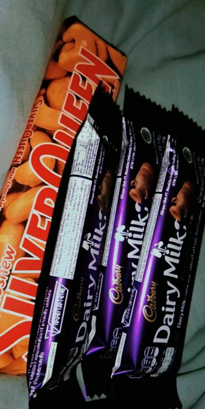 Silverqueen Dairymilk Cadbury Makanan Manis Makanan Minuman