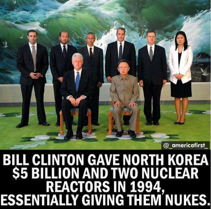 To all haters that want to blame the current president for this issue with N. Korea, remember the ones before him that you voted for.