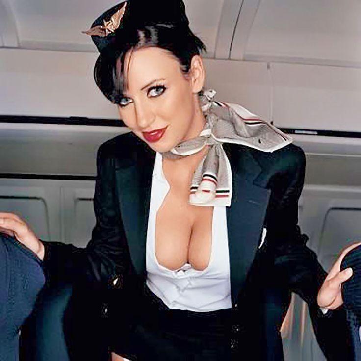 Was busty stewardess pics