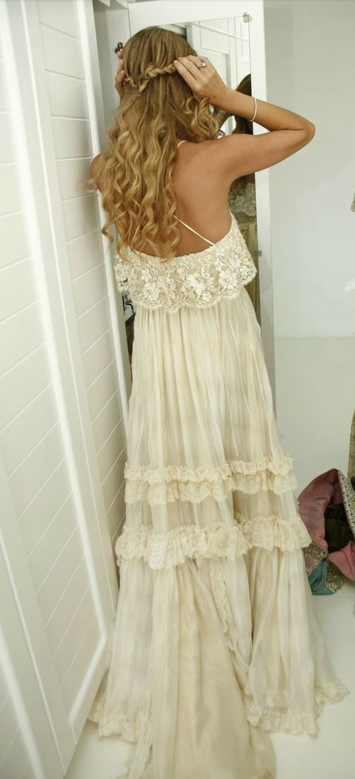 Bohemian~ Boho gypsy style long maxi dress. For more follow www.pinterest.com/ninayay and stay positively #pinspired #pinspire @ninayay