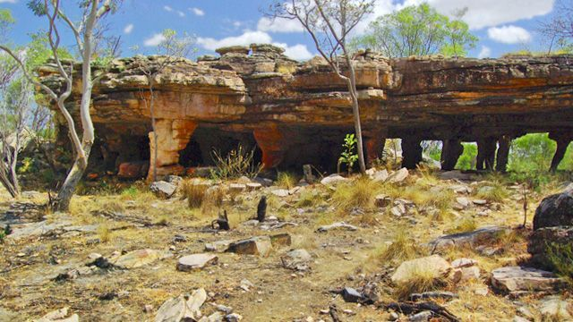 The oldest architecture on earth? The Sacred Gabarnmung excavated dwelling In Australia