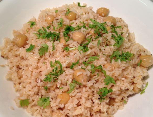 Ρεβύθια+με+ρύζι
