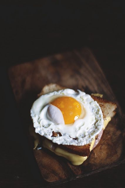 Egg on toast.   Agnieszka Krach